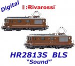 HR2813S Rivarossi Set of 2 Electric locomotives class Re 4/4, BLS 161 / SEZ 177 - Sound