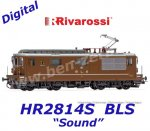 "HR2814S Electric locomotive class Re 4/4, BLS 195 ""Unterseen"" of the BLS - Sound"