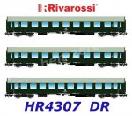 "HR4307 Rivarossi Set of 3 Coaches  ""Pannonia Express"" of the DR"