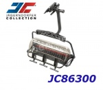 JC86300 Jagerndorfer 6-Seater Bubble Lange Wand  for cable ways 1:32