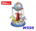 W550 10550 Wilesco Roundabout with globe and planes