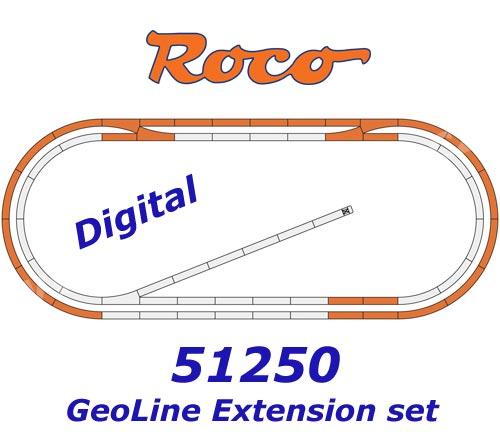 ROCO 61101 Gleisset B Roco H0 geoLine