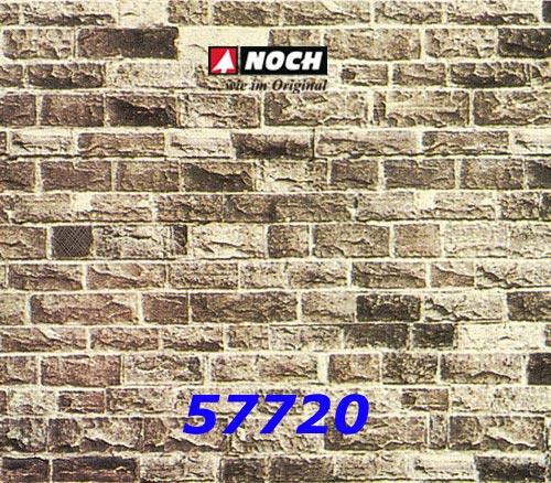 Noch 57720 Mauerplatte Basalt extra lang